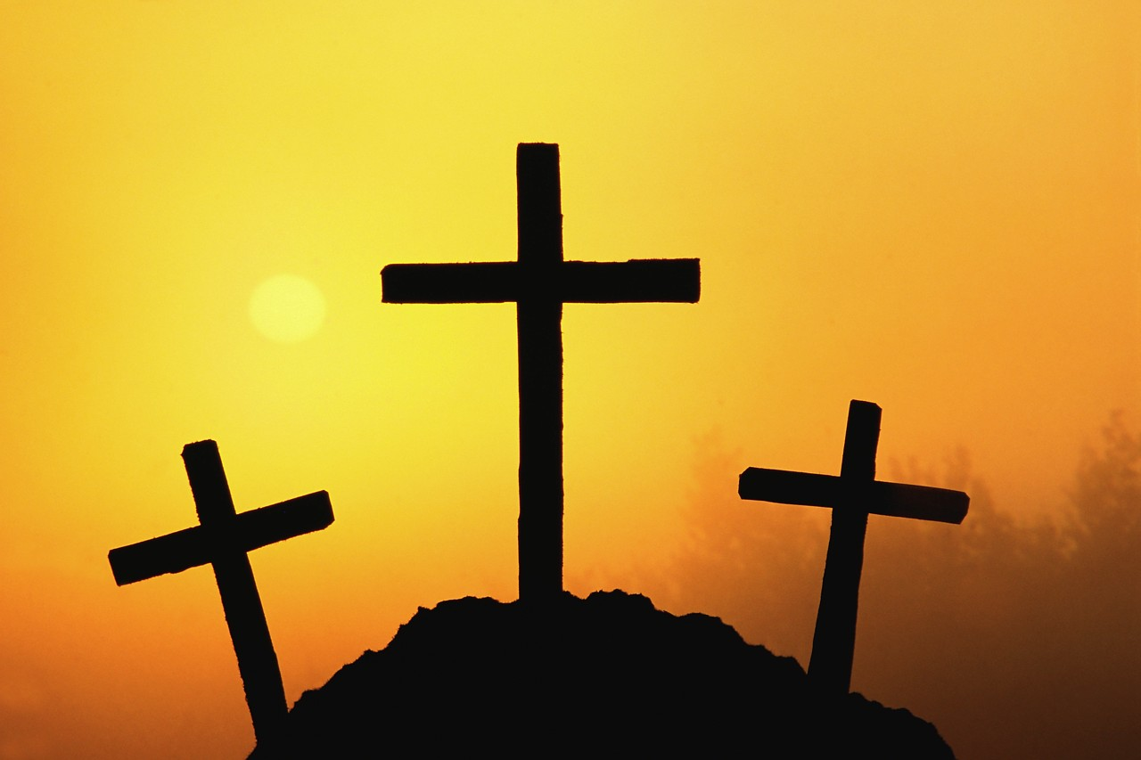 of The Three Crosses Wallpaper   Christian Wallpapers and Backgrounds 1280x853