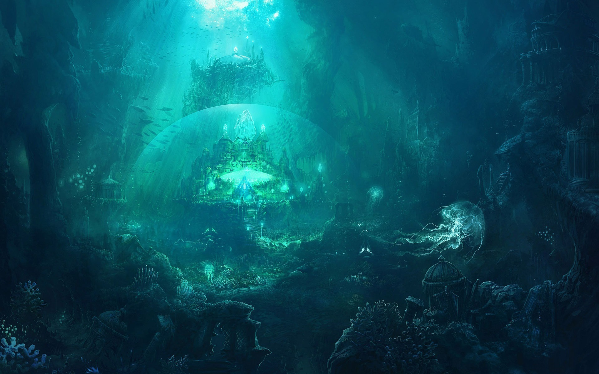 20 HD Abyss Wallpapers 1920x1200