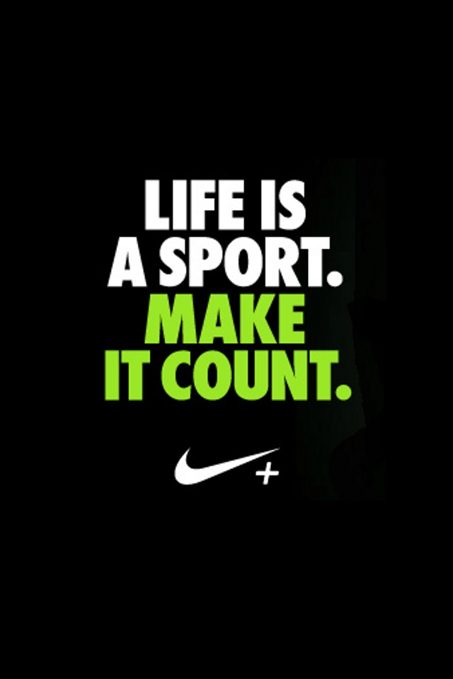 Nike Sports Quotes Wallpaper QuotesGram 640x960