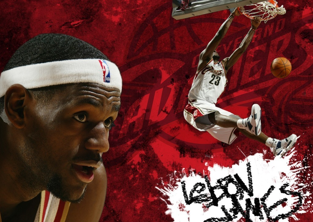 lebron james wallpapers Stock Images 1024x728