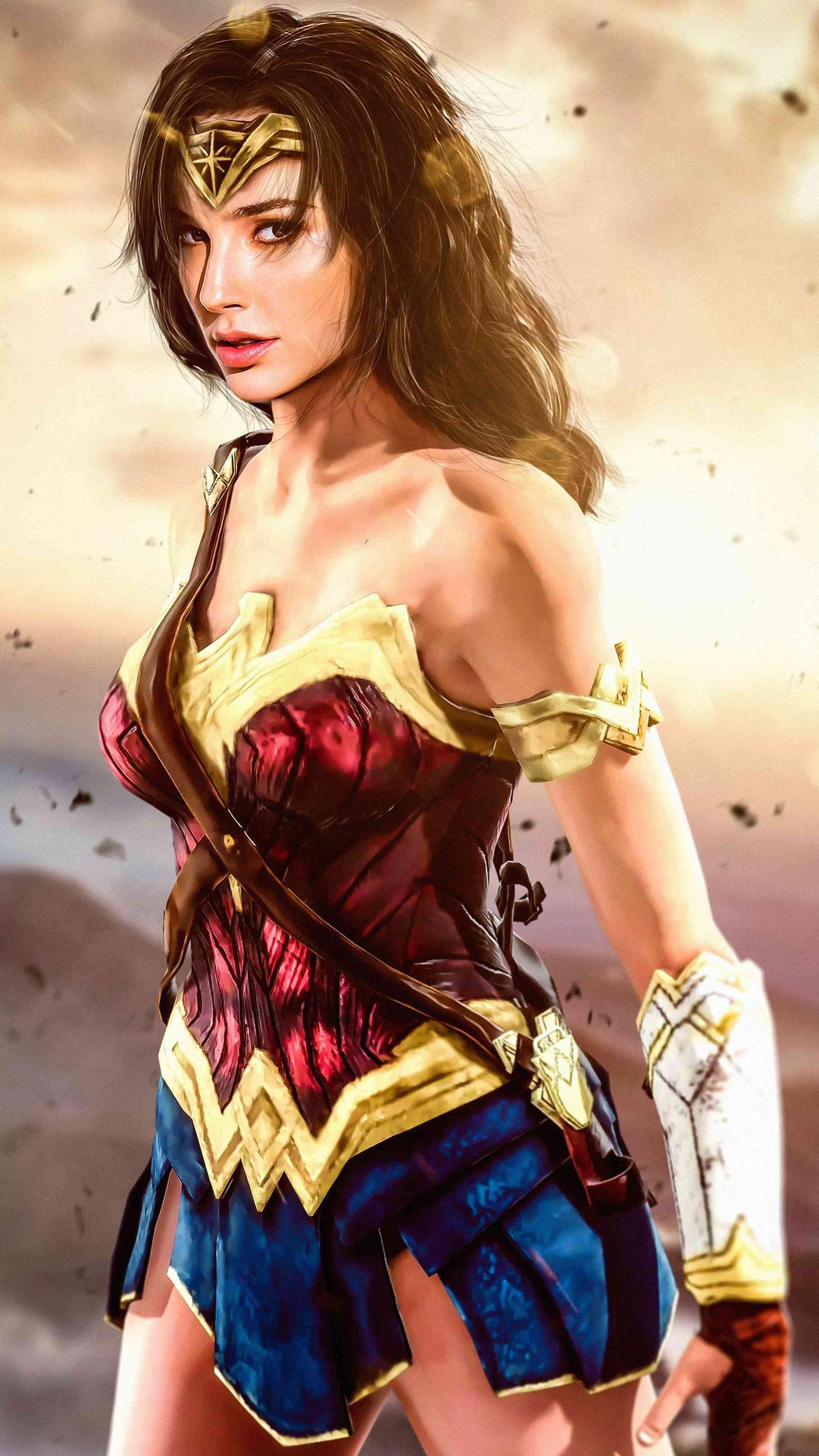 Wonder Woman HD Wallpaper Wonder woman Wonder woman art Gal 1819x3234