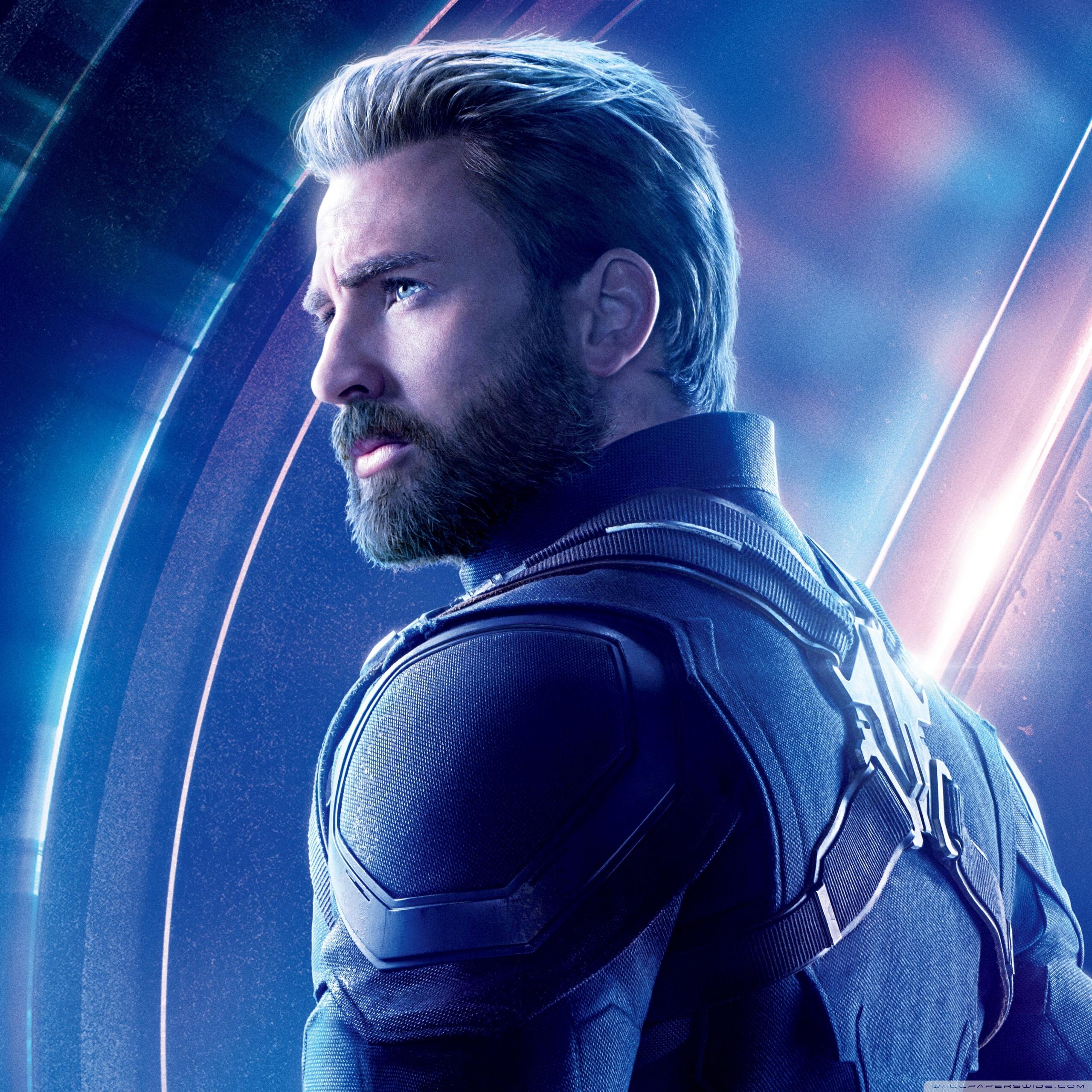 Avengers Infinity War 2018 Movie Captain America 4K HD Desktop 2560x2560