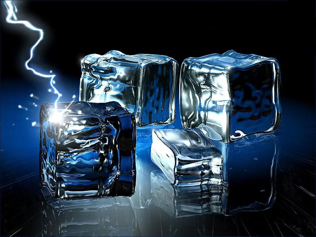 3D ice cube desktop wallpapers wallpapersd bloggertemplatecomjpg 1024x768