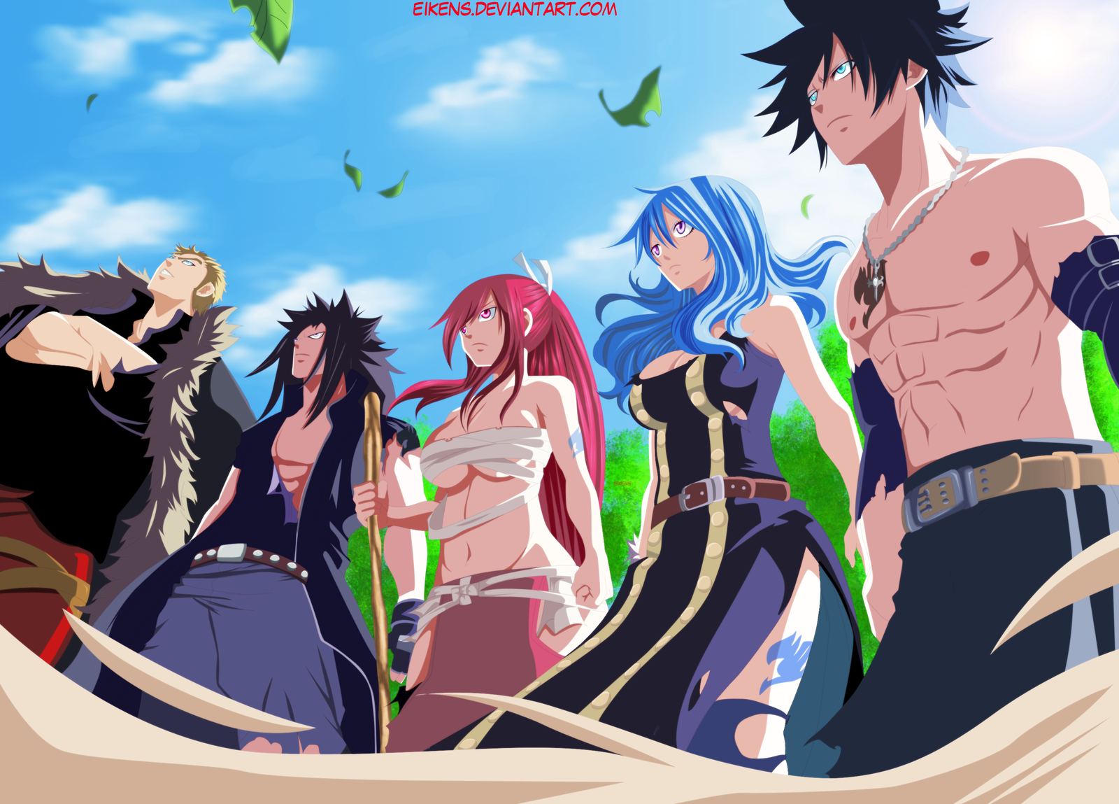 Fairy Tail Magazine Announced The Sun Rising Blog 1600x1149