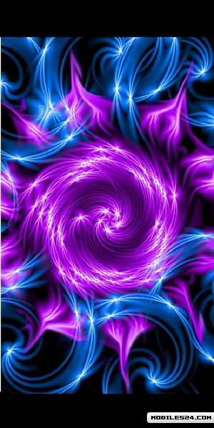 3D Purple Touch Ripples Live Wallpaper Samsung Galaxy S3 App 300x600