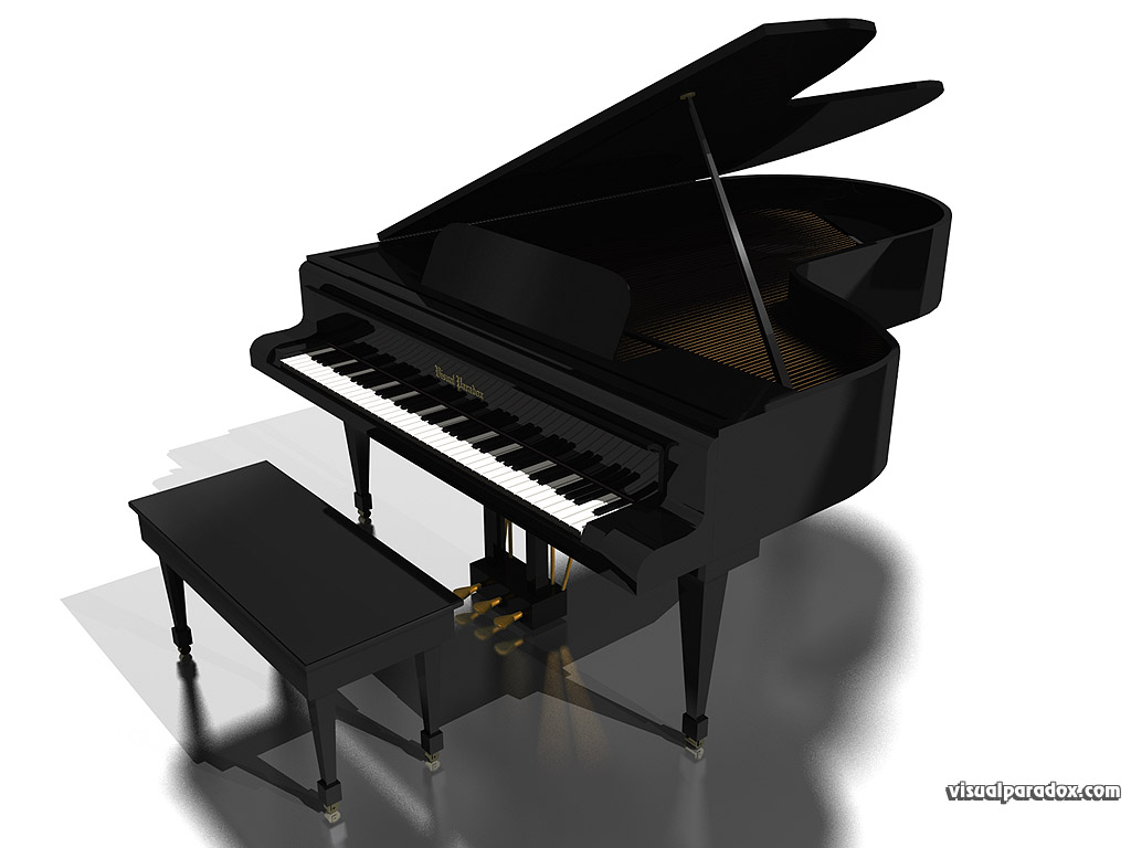 Baby Grand Piano Wallp...