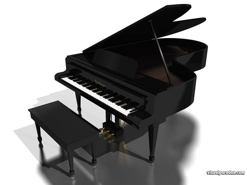 grand piano wallpaper - photo #9