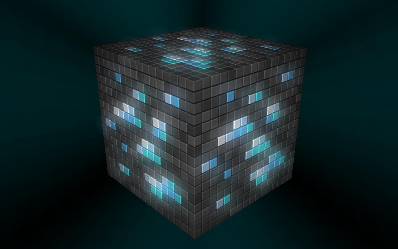 Related Minecraft Gold Block Wallpaper Minecraft Diamond Block 1440x900
