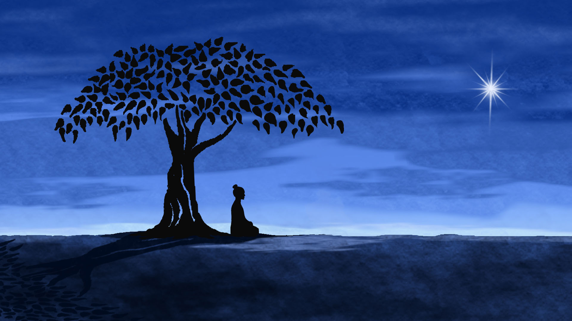 HD Meditation Desktop Wallpapers 1920x1080