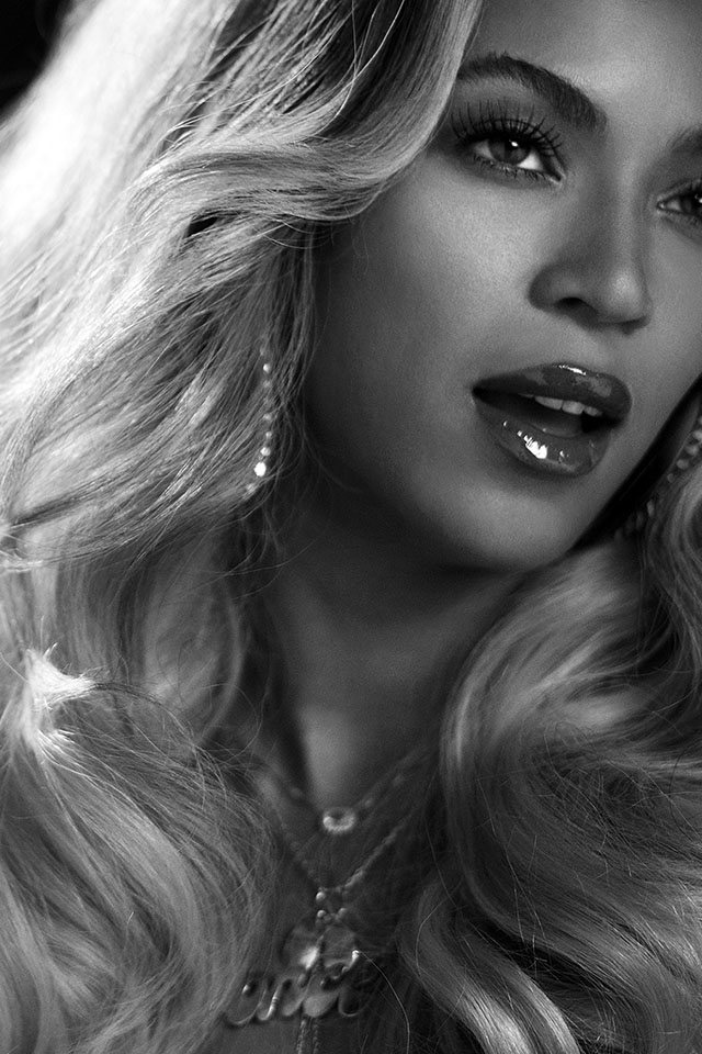 FREEIOS7 beyonce knowles   parallax HD iPhone iPad wallpaper 640x960