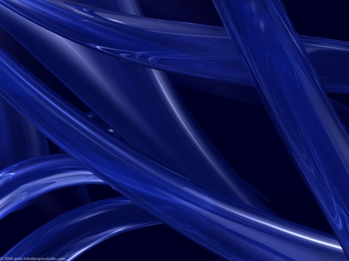 Blue 3d wallpaper in 1152x864 screen resolution 1152x864