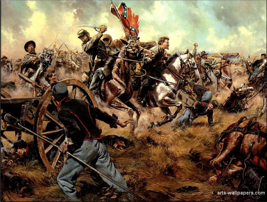 Civil War Artwork 857x650
