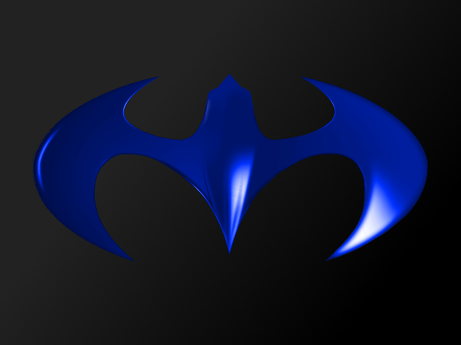 Nightwing Logo Wallpaper Hd Nightwing by kryptoknight 85 900x675