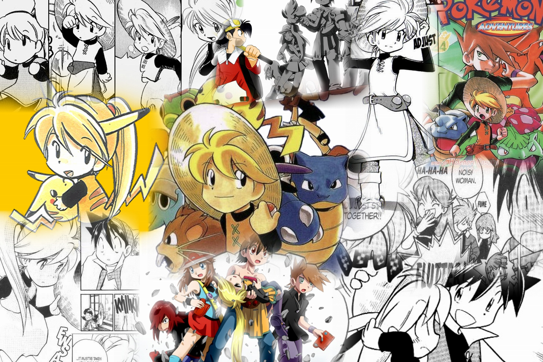 Free Download Yellow From Pokemon Adventures Images Yellow