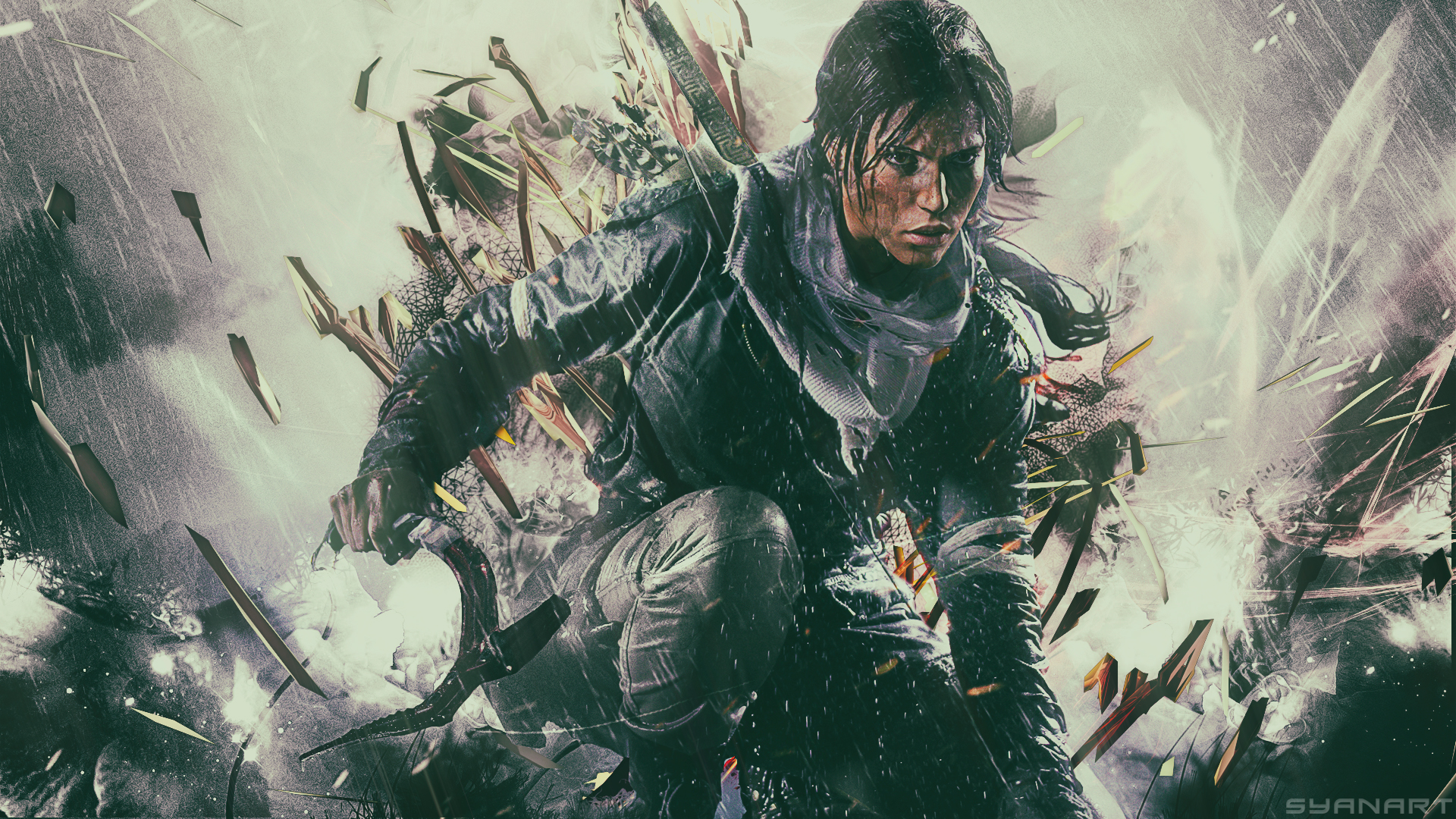 Free Download Rise Of The Tomb Raider Fullhd Wallpaper Syanart