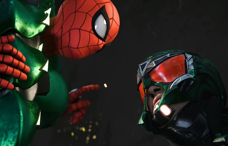 Wallpaper Sony scorpion Marvel Spider Man Exclusive PS4 1332x850