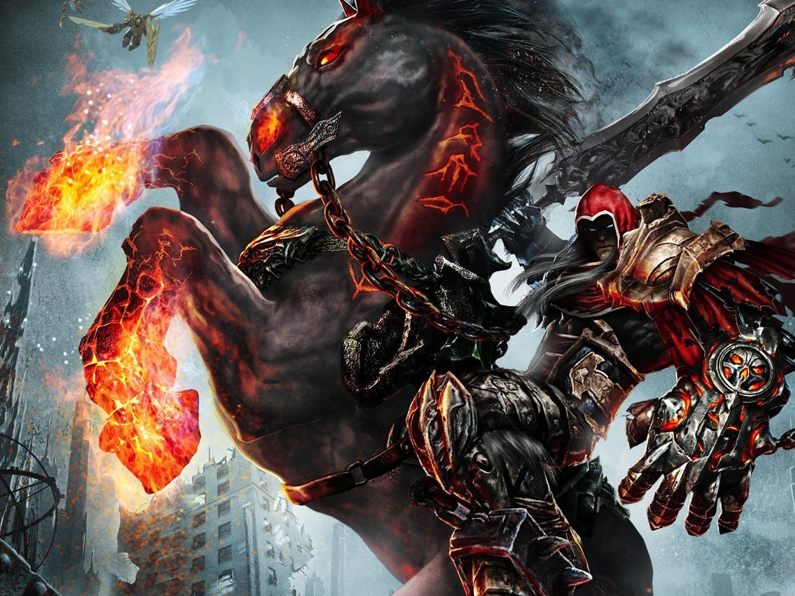 Darksiders Wrath of WarDarksiders 4 Horsemen Wallpaper 1600x1200