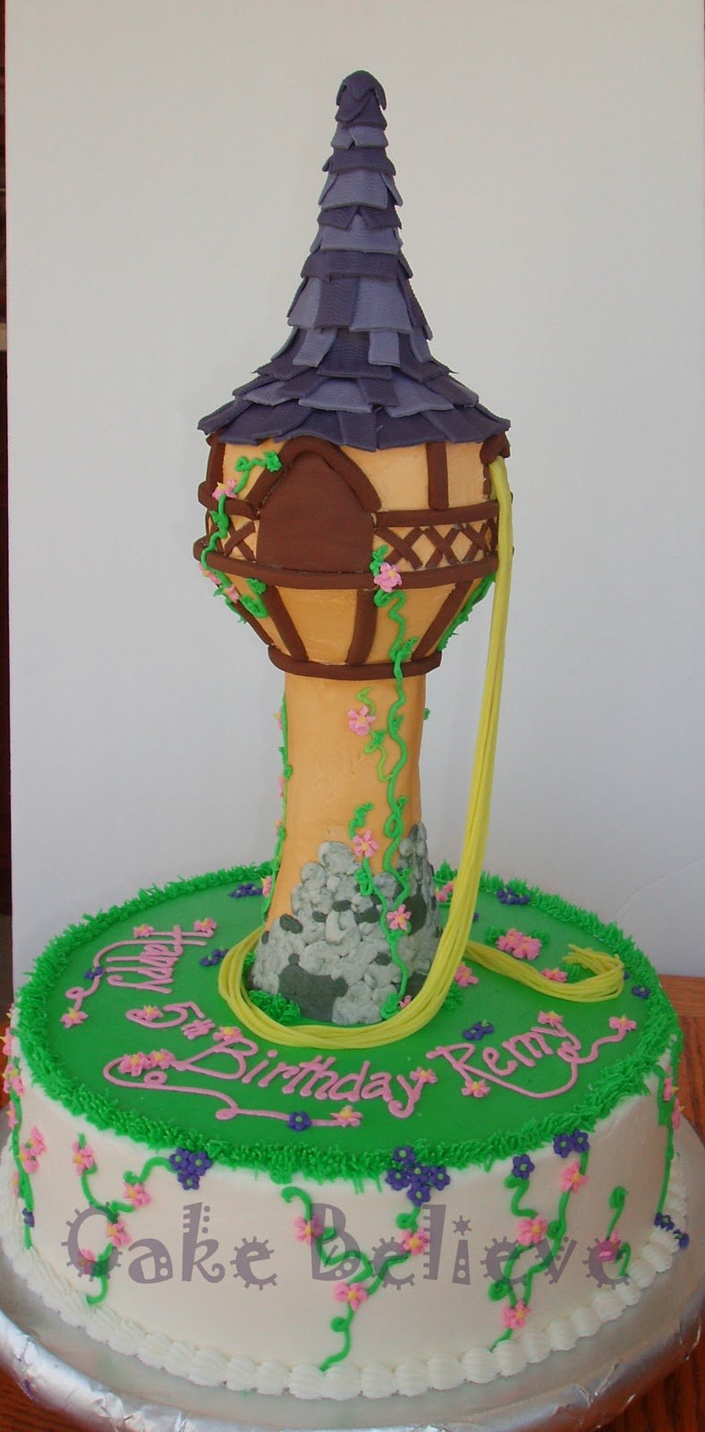 Tangled Cake Rapunzel Rapunzels Tower Princess Disney 788x1600