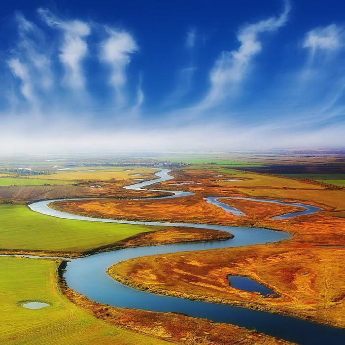 River Scene Wallpaper