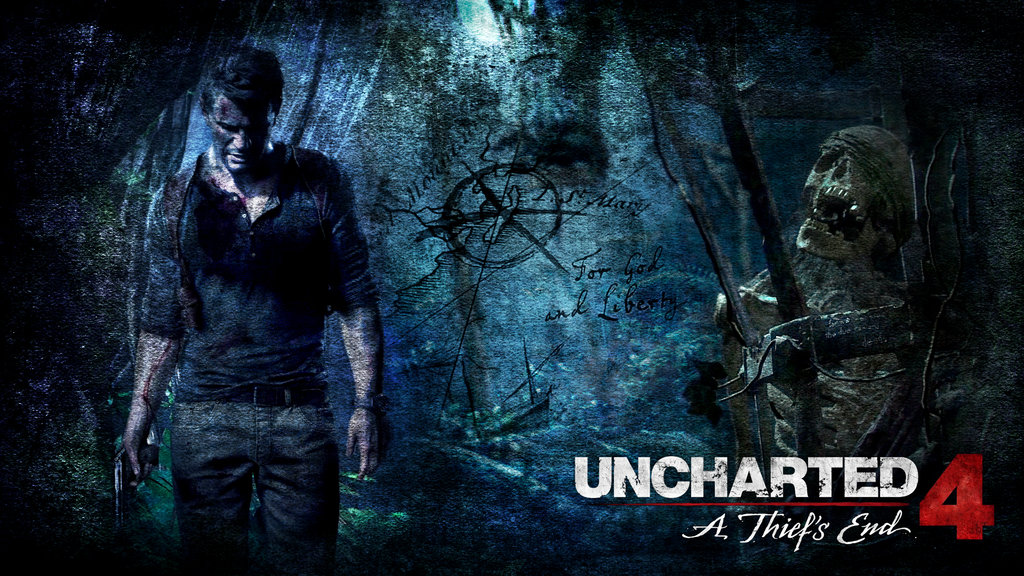 Uncharted 4 A Thiefs End   Wallpaper WIP by The10thProtocol 1024x576