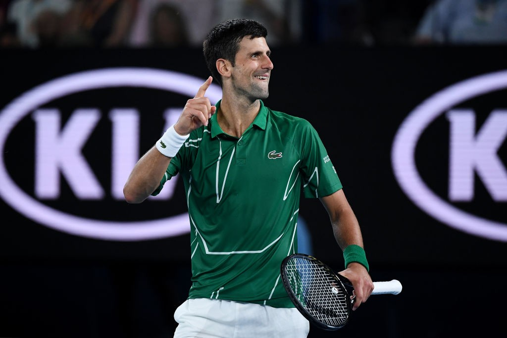 Novak Djokovic admits he is not as natural as Roger Federer 1024x683