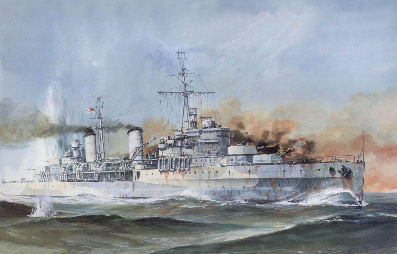 Wallpaper smoke figure explosions battle Navy sea shots 1332x850