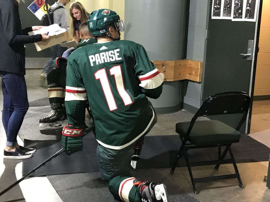 Parise returns to practice return to game action unclear The 1024x768