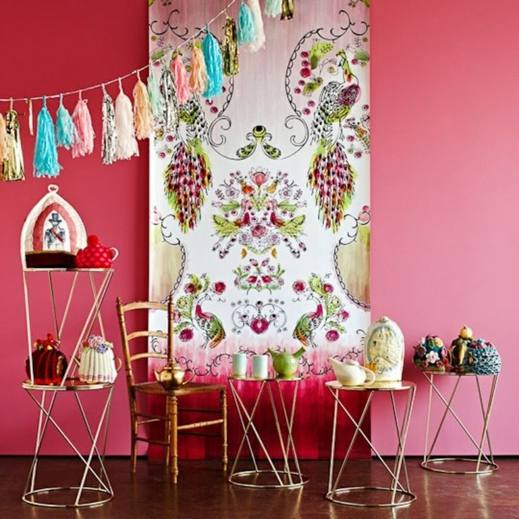 Creative Ideas for Using Wallpaper Interior design Pinterest 736x736