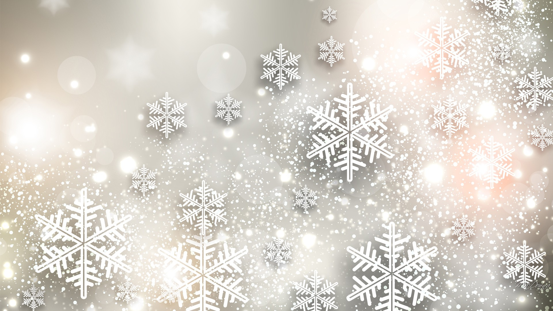 Snowflake background wallpapersafari