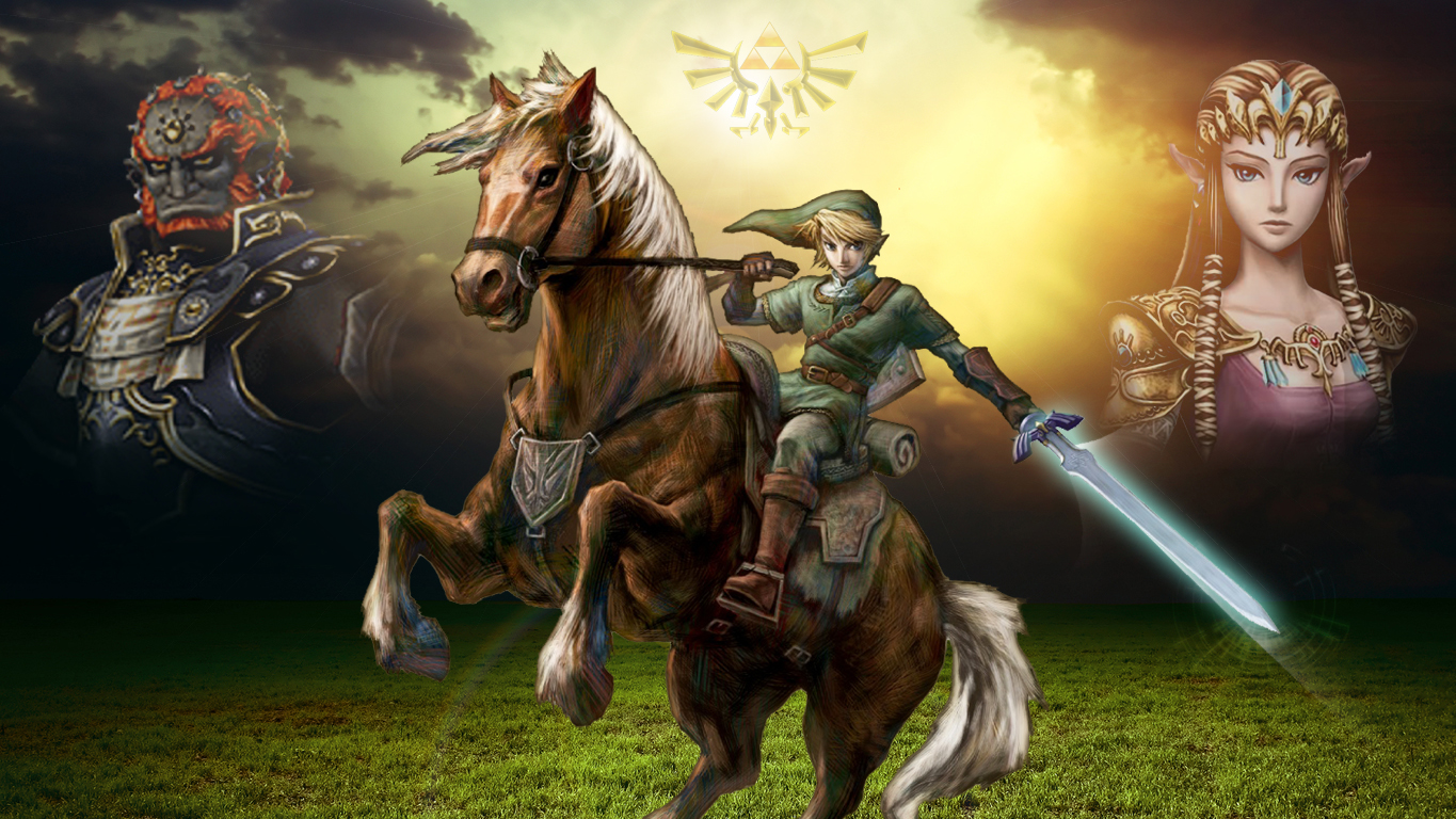 The Legend Of Zelda Twilight Princess Wallpaper by 1365x768