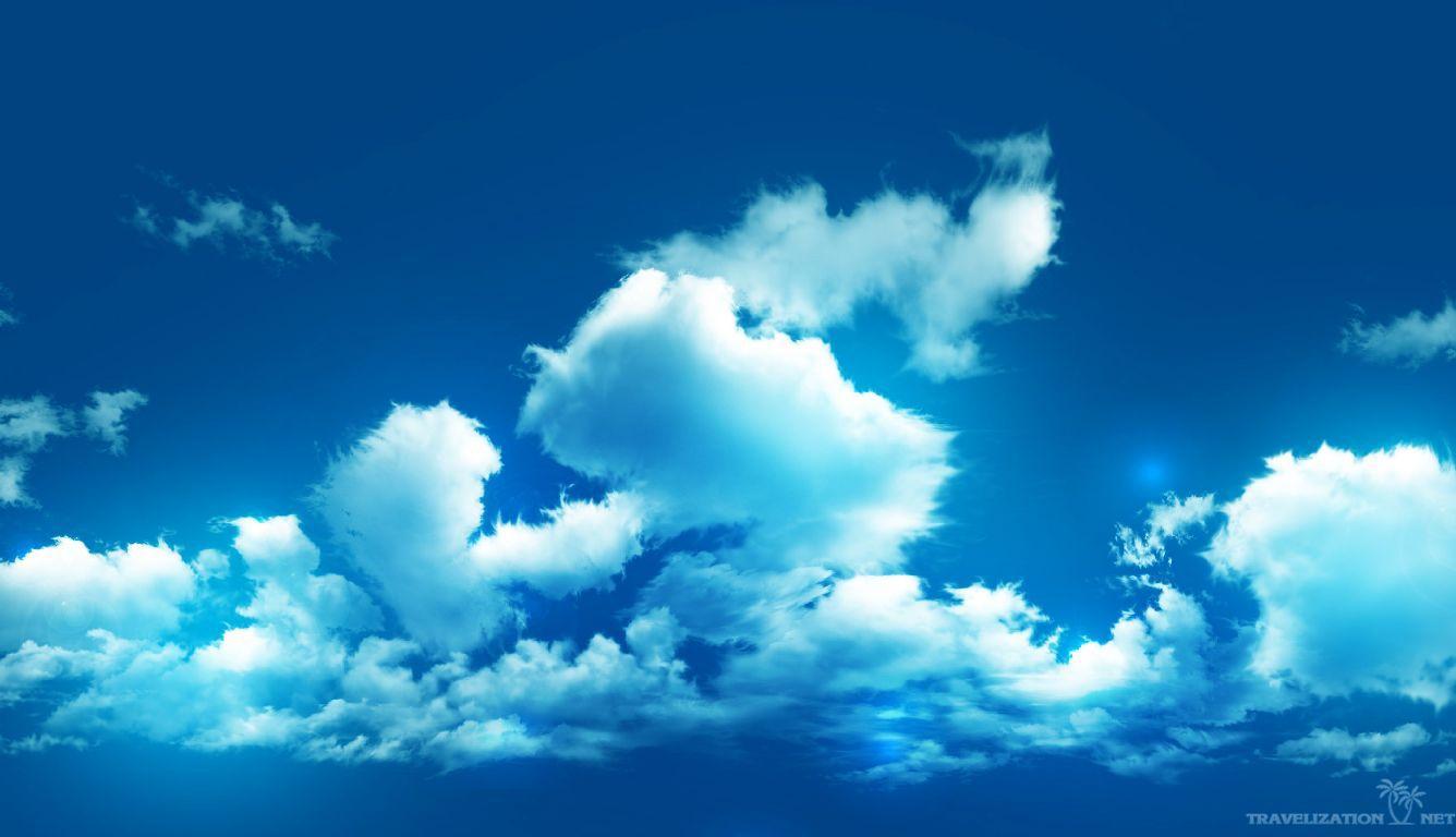 Blue Sky Wallpaper Hd: 1336X768 HD Wallpapers