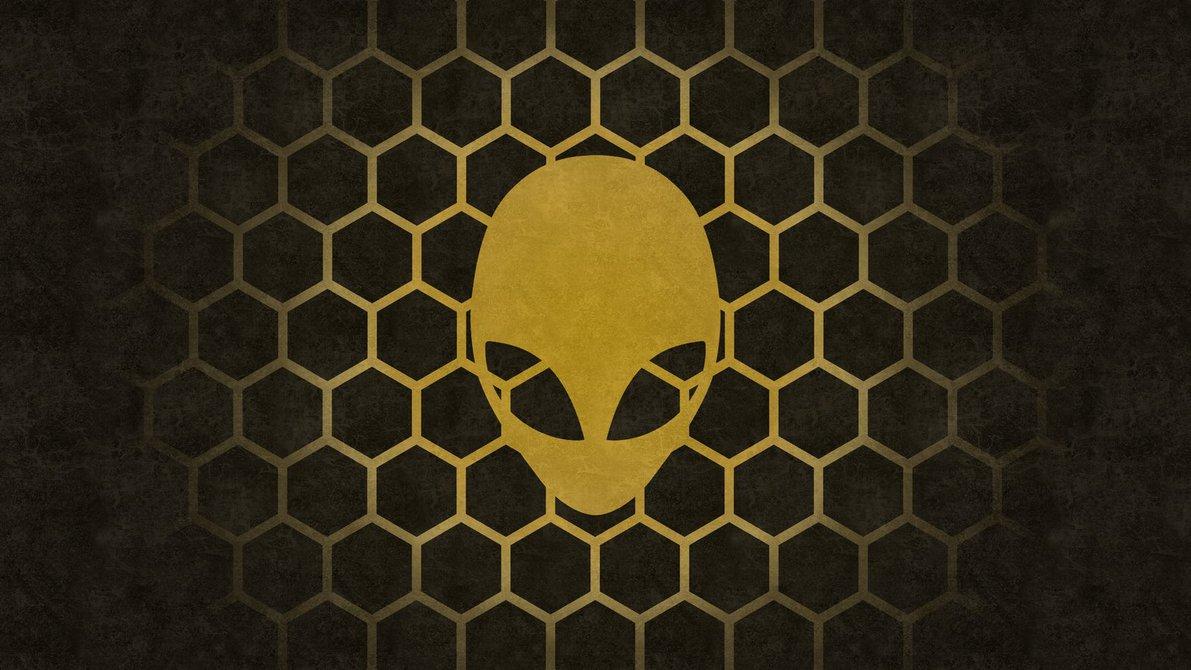 Alienware Hexagon UltraHD 4K wallpaper by Locix ITA 1191x670