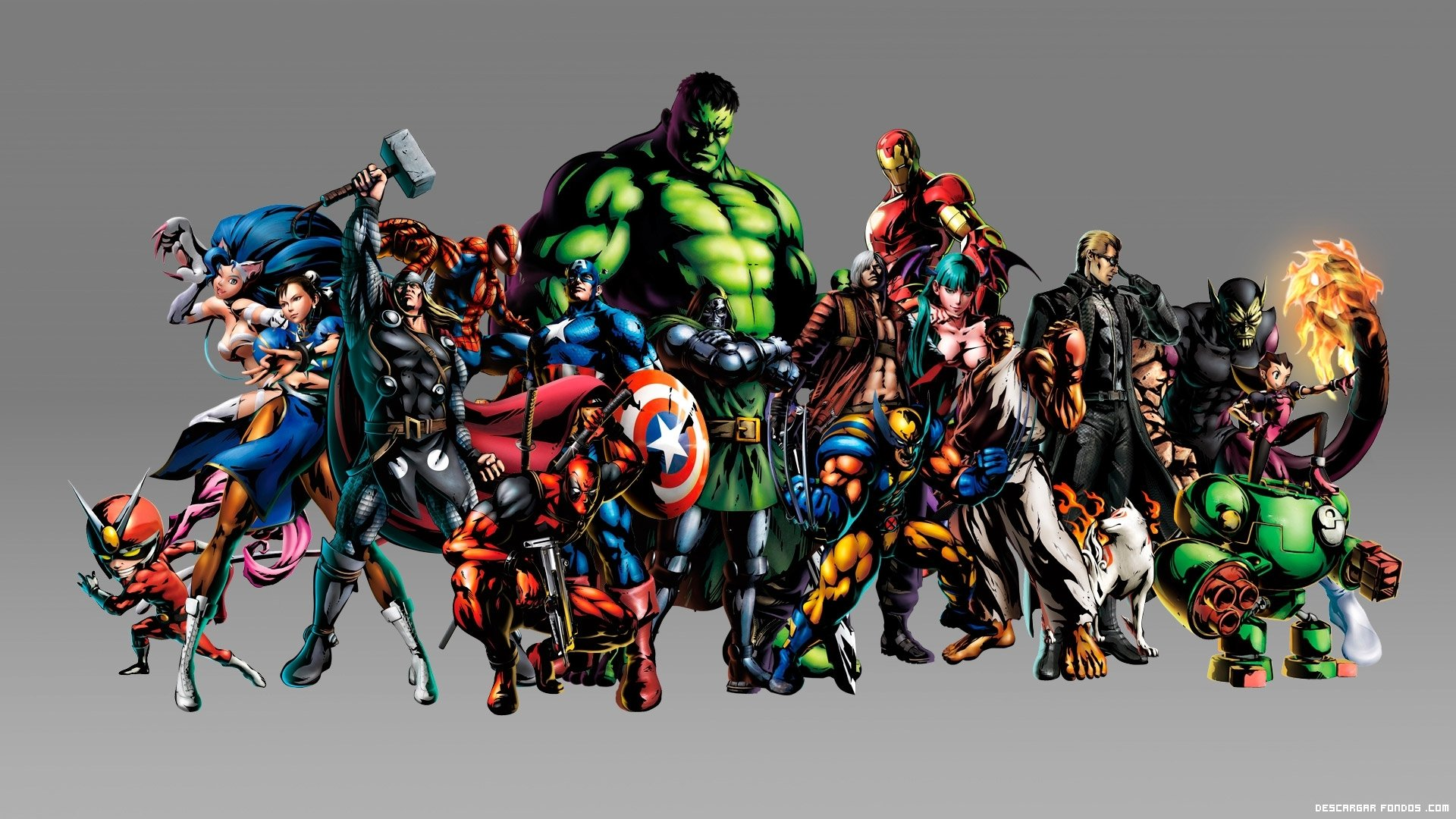 Download Marvel Super Heroes HD Wallpaper 6648 Full Size 1920x1080