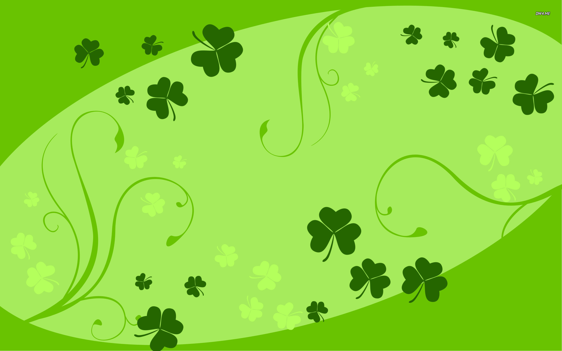 Clovers wallpaper   Holiday wallpapers   2152 1920x1200