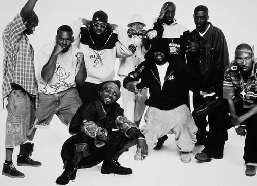 all rappers  wu tang clan   gangsta rappers  hip hop   black and white 500x362