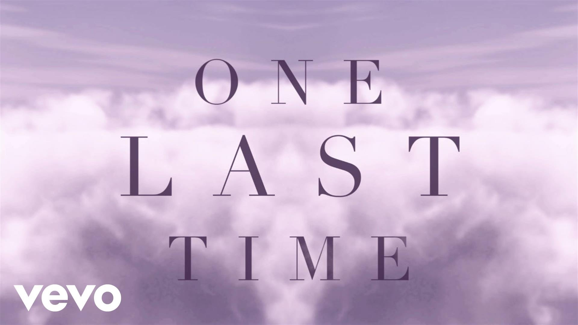 Ariana Grande   One Last Time Lyric Video Wavo 1920x1080