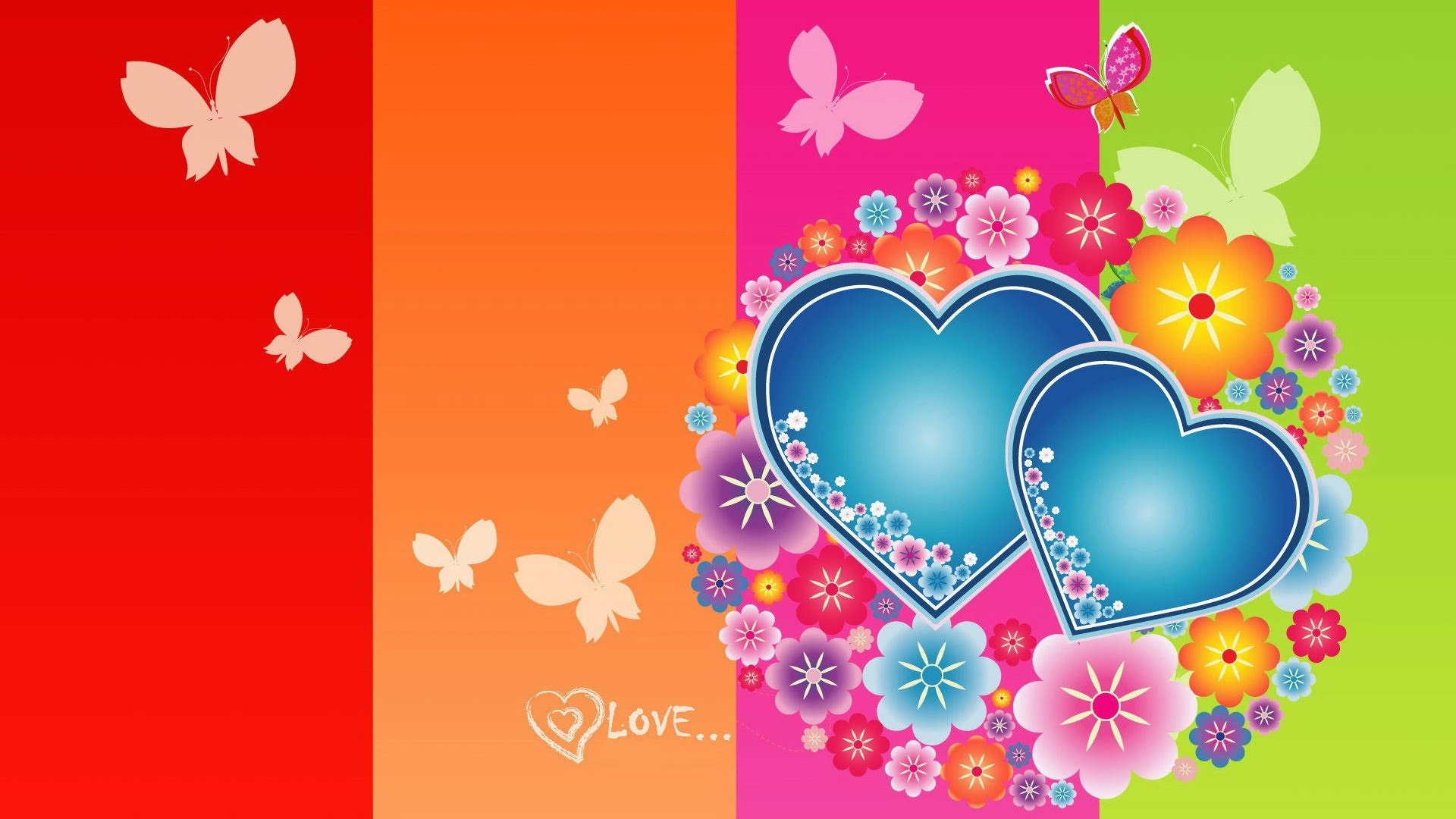 cute valentines day 1920x1080 hd desktop wallpaper 1920x1080