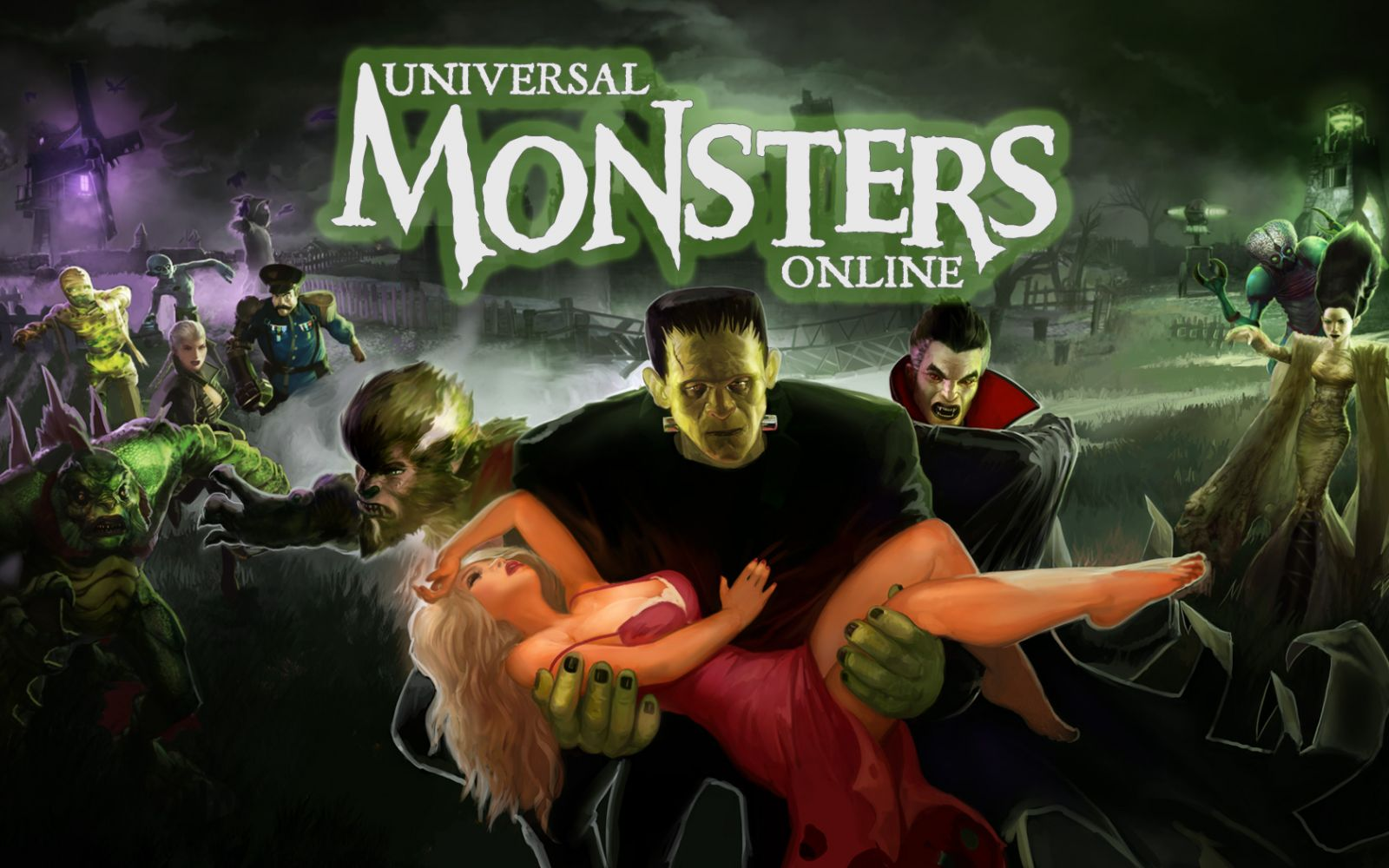 Universal Monsters Online wallpaper 1600x1000