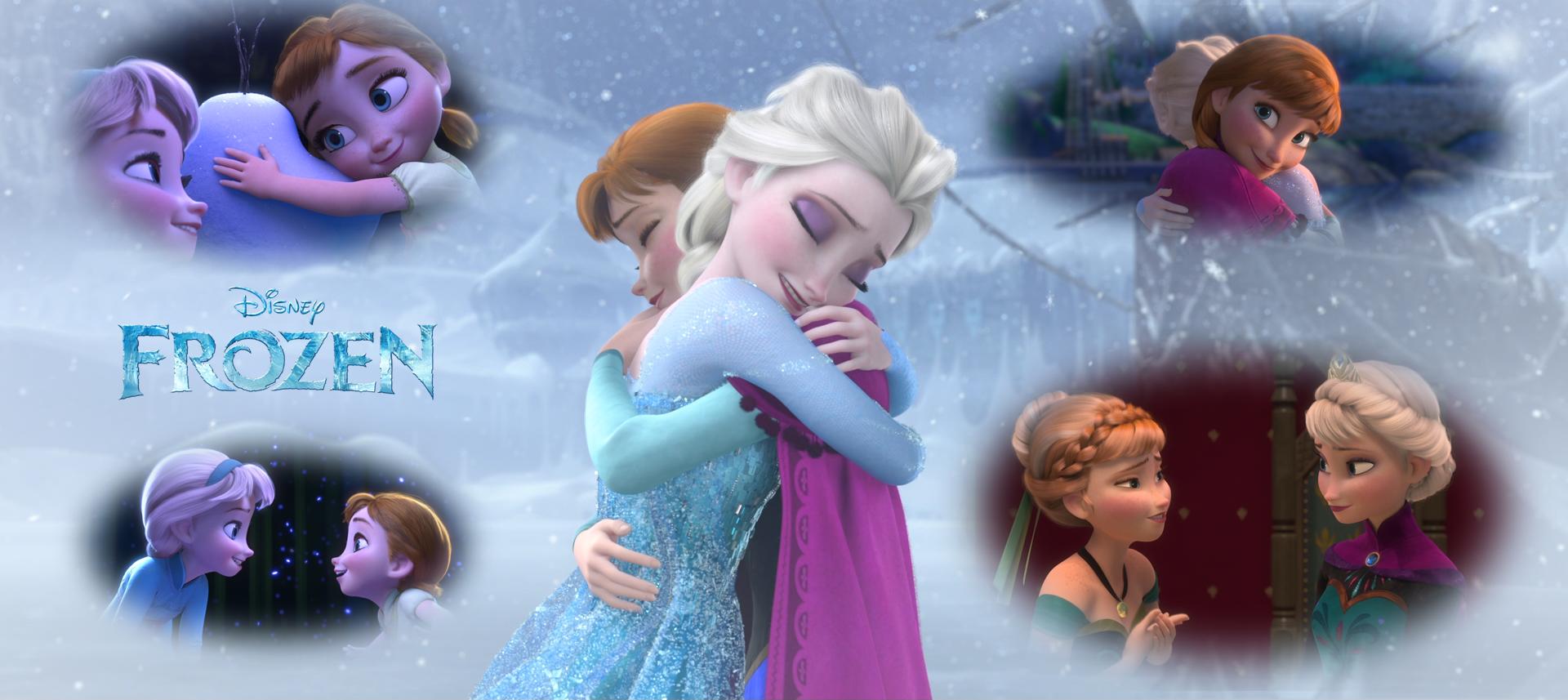 Free Download Elsa And Anna Wallpaper From Rfrozen Iimgurcom