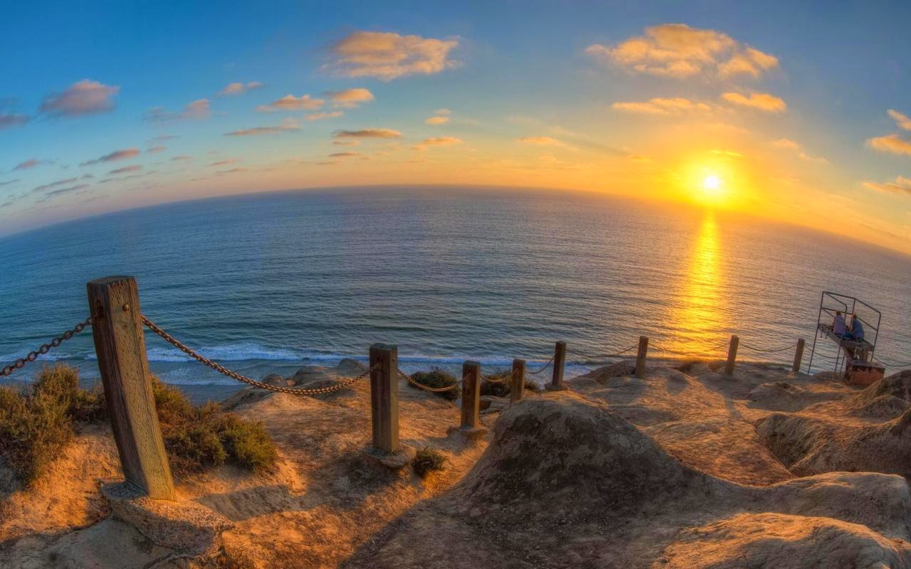 at San Diego   enjoy this beautiful Rocky Cliff Wallpaper at San Diego 1280x800