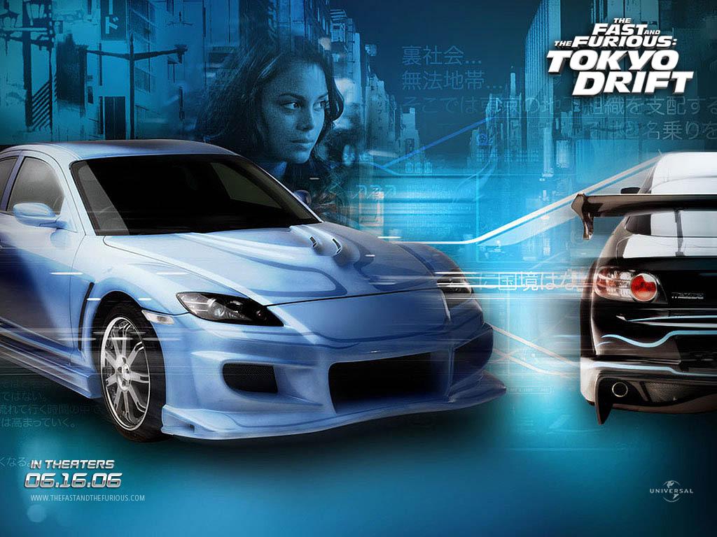 Fast Furious Tokyo Drift Desktop Wallpapers 1024x768