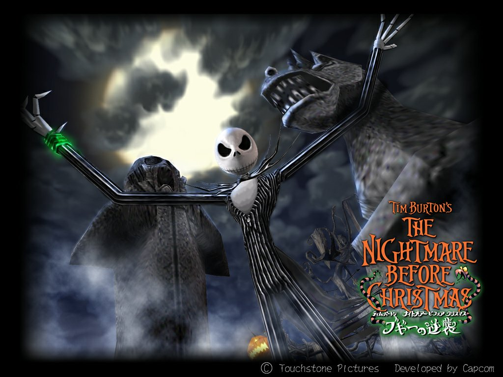 Free Download Nightmare Before Christmas Wallpaper Amazing