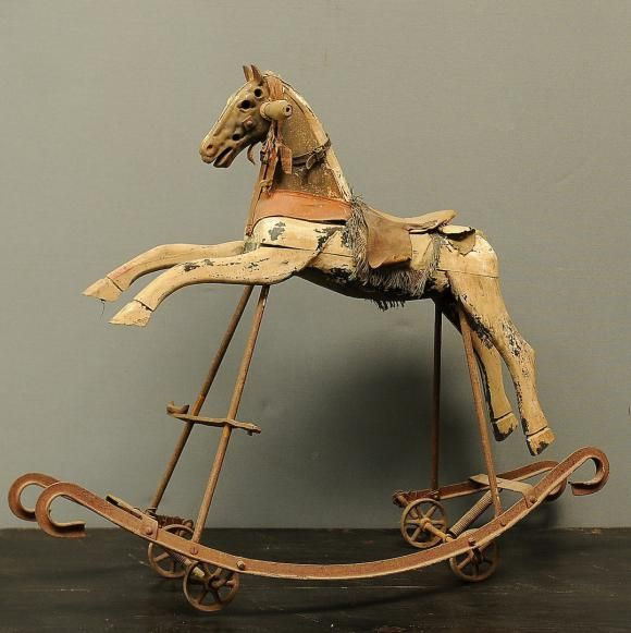 Herloom Rocking Horses Carousel Horses Tv Channel 7great South East 580x581