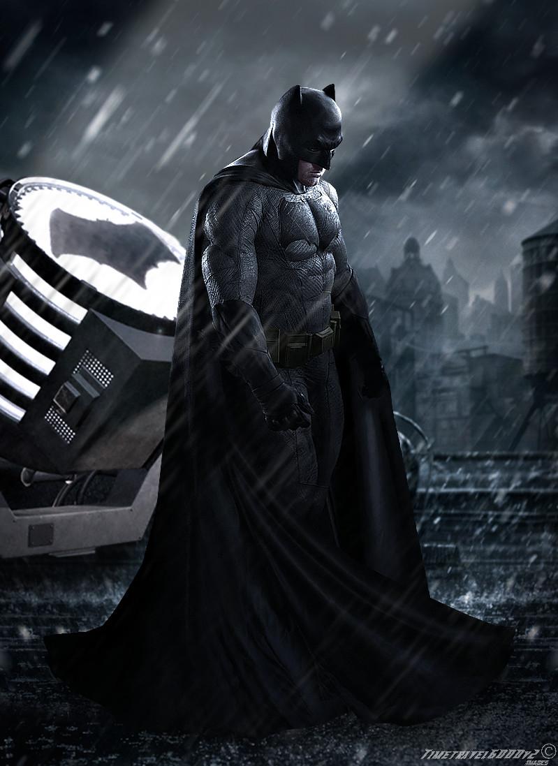 Batman v Superman Dawn of Justice Batman Poster by Timetravel6000v2 799x1097
