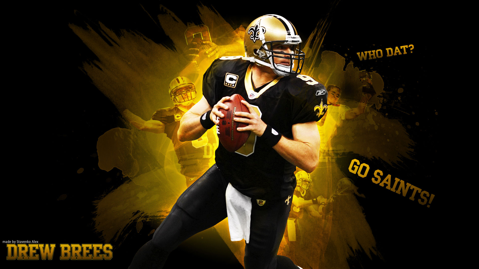 Drew Brees Wallpapers High Quality Download 1920x1080