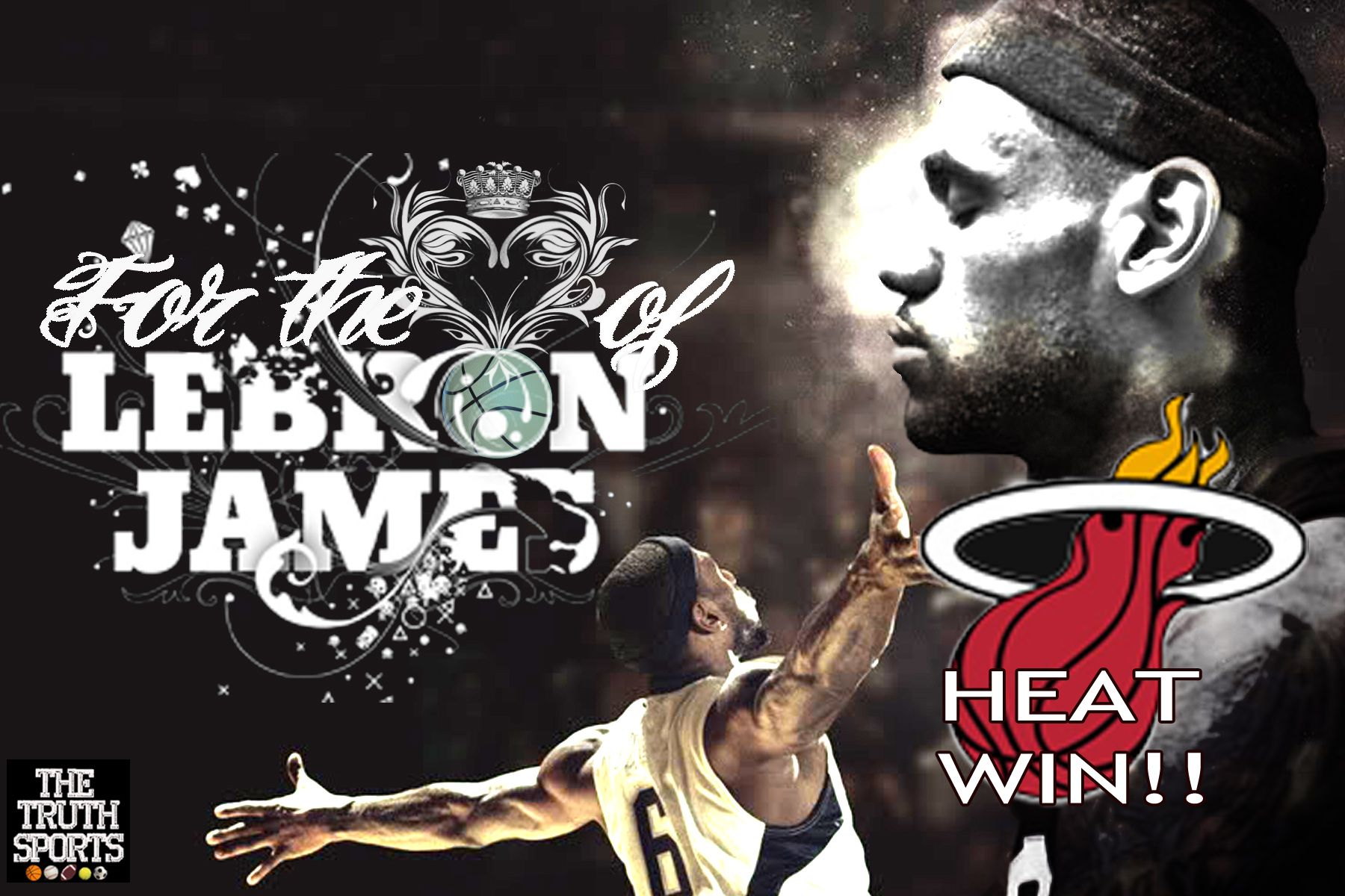 Miami Heat Lebron Wallpaper