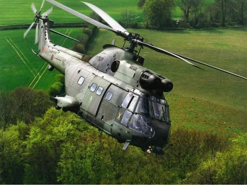 Puma Helicopter Screensaver Screensavers   Download Puma Helicopter 500x375