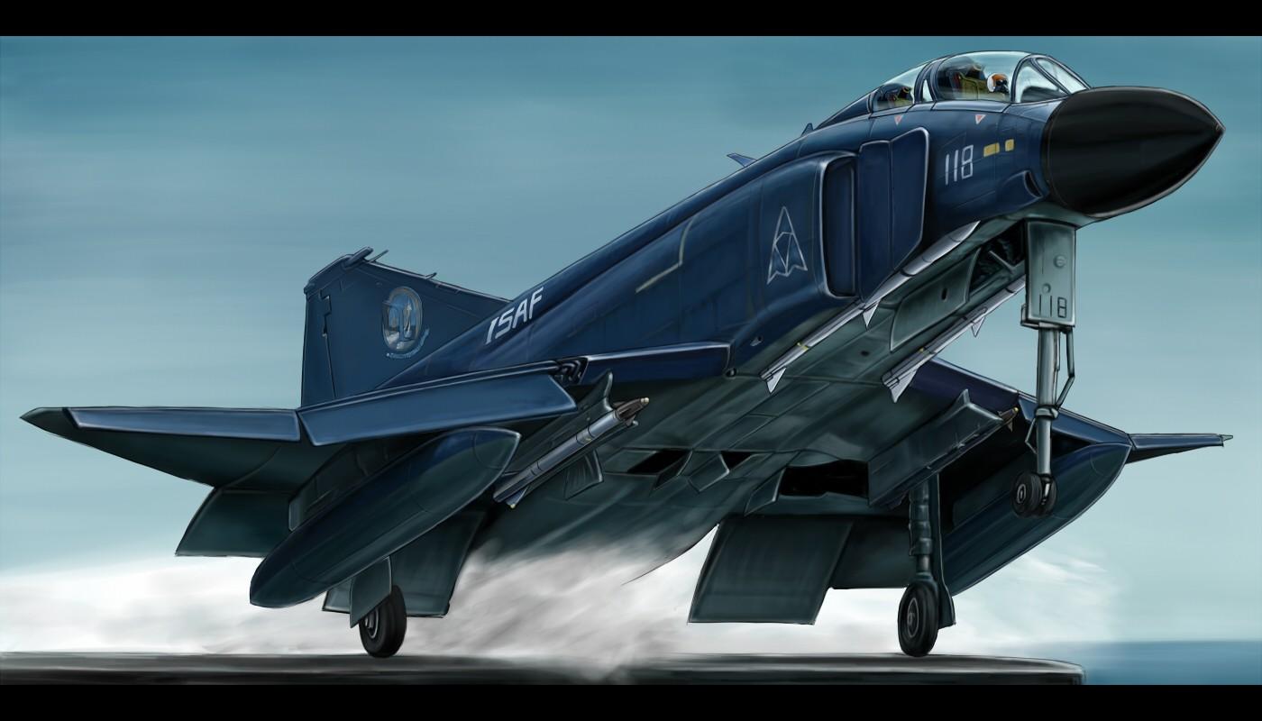 Ace Combat Wallpaper 1400x800 Ace Combat F4 Phantom II 1400x800