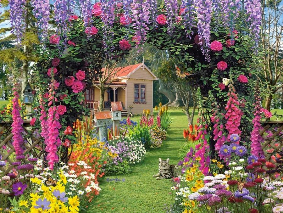 English garden wallpaper Downloade Pic Gallery 900x677
