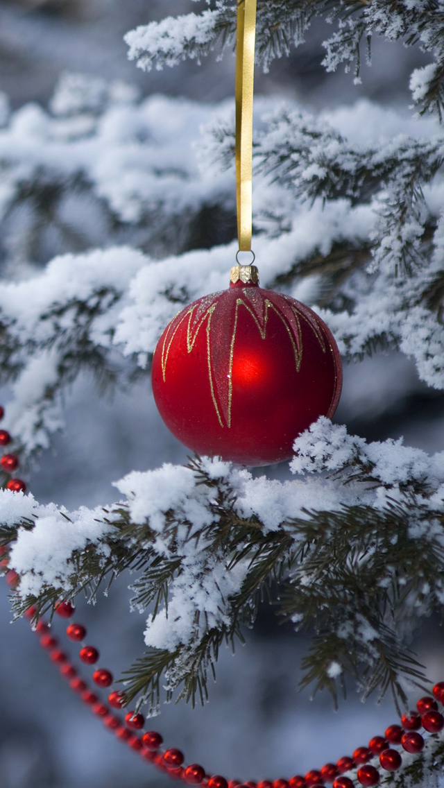 60 Beautiful Christmas iPhone Wallpapers To Download 640x1136